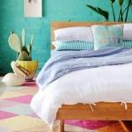 tuğla duvar yatak odası dekor fikirleri