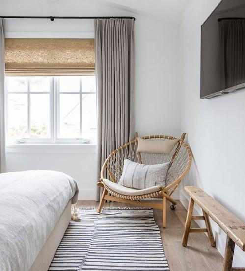 2018 Perde Modelleri Ve Fikirleri Oturma Odası: Yatak Odası Perde Modelleri 2018 19