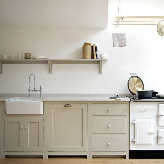 boyalı mutfak dolapları ve üniteler 2018