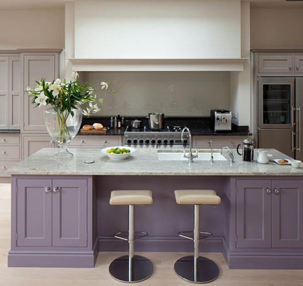 boyalı mutfak dolapları ve üniteler