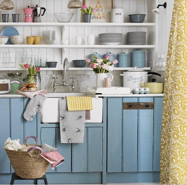boyalı mutfak dolapları ve üniteleri 2018 2019