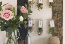 düğün masa süslemeleri 2018 isim kartları