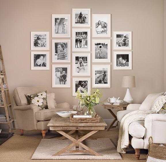 Duvara fotoğraflar asmanın yaratıcı yolları