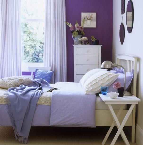 ev dekorasyonunda renklerin etkileri nelerdir - lila