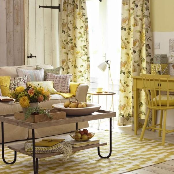 ev dekorasyonunda renklerin etkileri - sarı