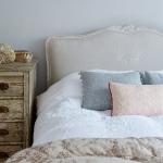 gri yatak odası dekor fikirleri 2018
