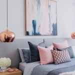gri yatak odası dekorasyon fikirleri 2018
