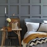 gri yatak odası renk fikirleri 2018