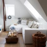 küçük oturma odası dekorasyon fikirleri