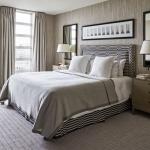 modern gri yatak odaları 2018