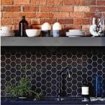 parlak fayanslar ile ev dekorasyon fikirleri 2018 2019