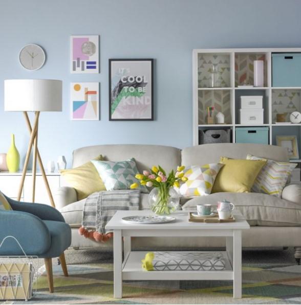 Pastel salon i tasar m ev dekorasyonu for Salon pastel