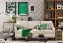 Salon iç tasarım stilleri için fikirler 2018 2019