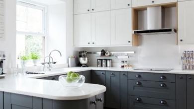 u şeklinde mutfak modelleri