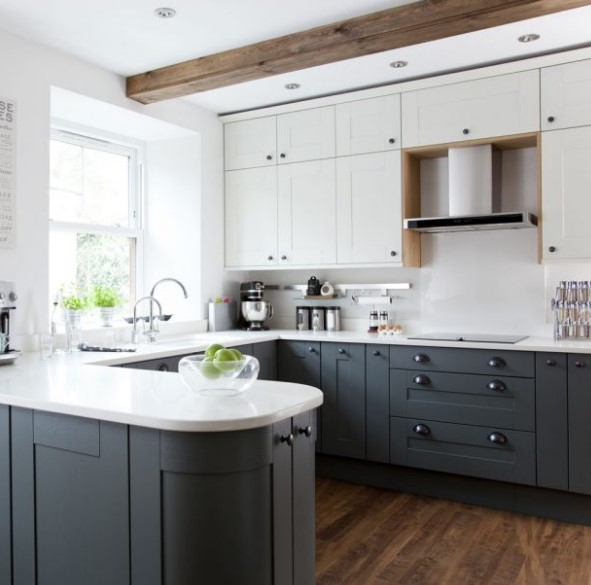 Grey Kitchen Units What Colour Walls: U Şeklinde Mutfak Modelleri