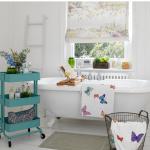 vintage banyo dekorasyonu 2018