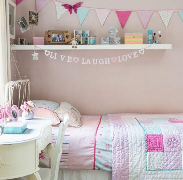 Az bütçeli çocuk odası dekorasyon fikirleri