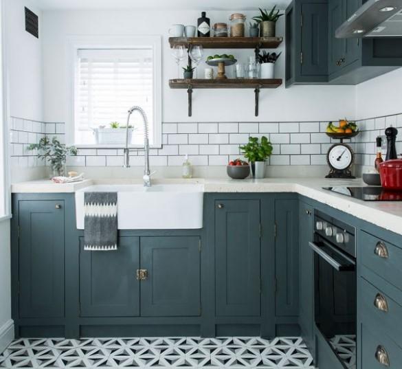 Az bütçeli mutfak dekorasyon fikirleri