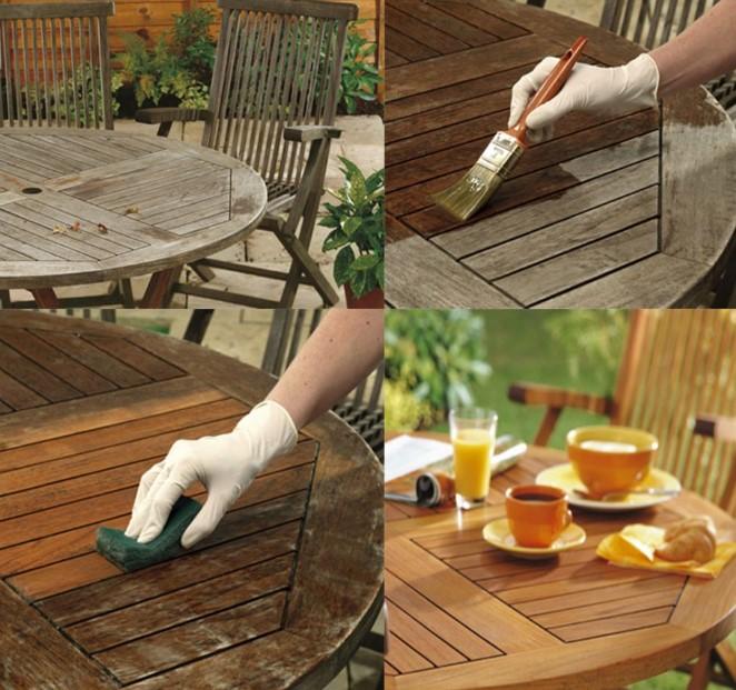 bahçe mobilyaları nasıl temizlenir 2020