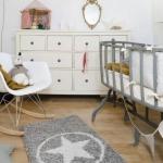 beyaz kız bebek odası dekorasyon fikirleri
