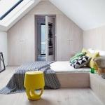 çatı katı yatak odaları 2018