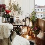 dar balkonlar için dekorasyon fikirleri