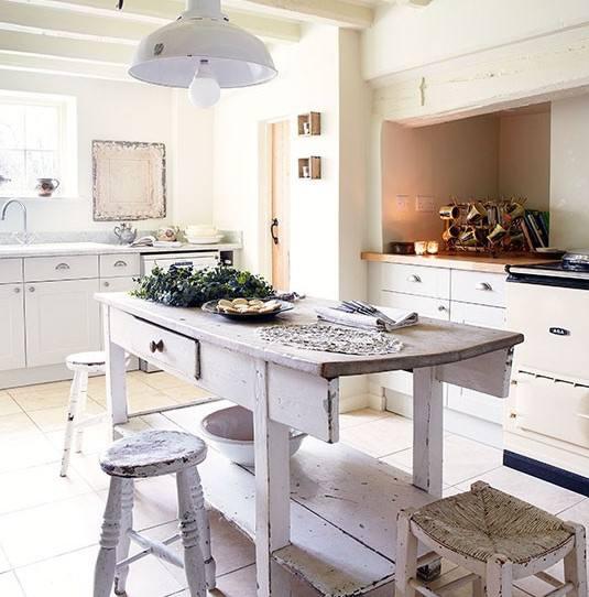 eski ahşap mobilyalı mutfaklar 2018