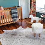 etnik kız bebek odası dekorasyonu