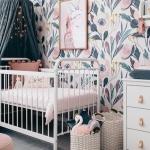 kız bebek odası dekorasyon fikirleri 2019