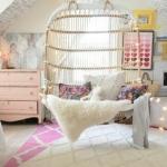kız bebek yatak odası dekorasyon örnekleri