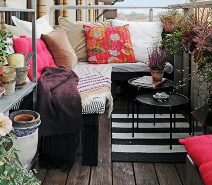 küçük balkon dekorasyonları 2018 19