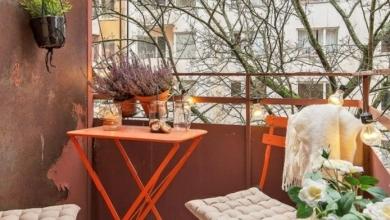 küçük balkon dekorasyonları 2018