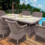 Luva Concept bahçe masa takımları 2018