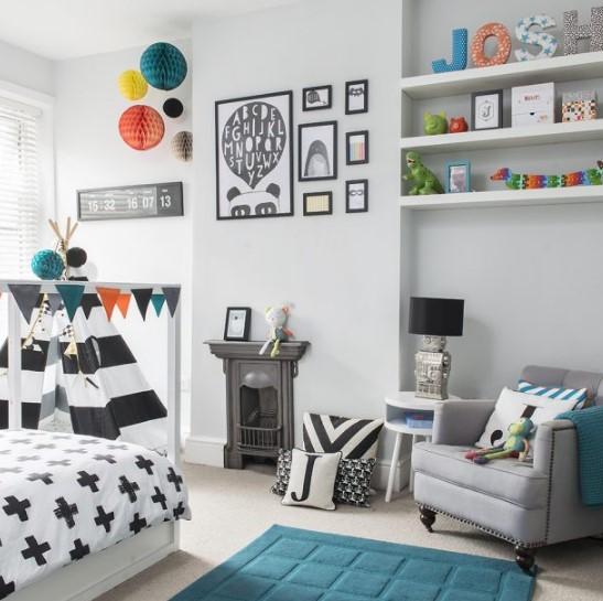 modern çocuk odası resimleri 2018 2019