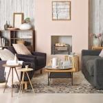 nötr renk oturma odası dekorasyon fikirleri