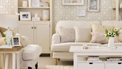 nötr renk oturma odası dekorasyonu