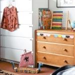 renkli kız bebek odası dekorasyonu
