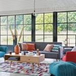 retro tarz ev dekorasyonu mobilya fikirleri 2018 2019