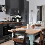 rustik ve modern mutfaklar 2018