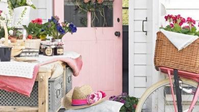 veranda dekor fikirleri