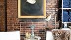 vintage tablolar ile dekorasyon fikirleri