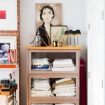 vintage tablolar ile dekorasyon modelleri