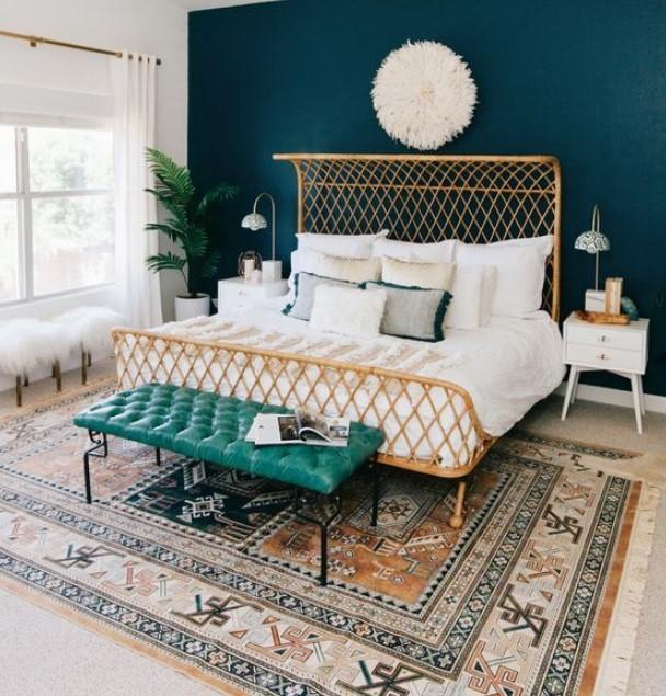 yatak odası halı seçimi