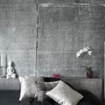 beton görünümlü duvar kağıdı modeli 2018 2019