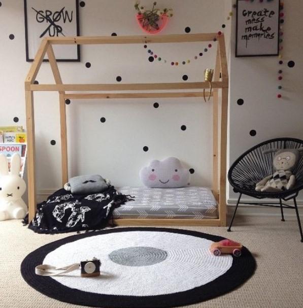 Beyaz çocuk odası 2019