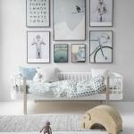 Beyaz çocuk odası dekorasyon modelleri 2019