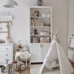 Beyaz çocuk odası dekorasyonu modelleri