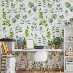bitki desenli duvar kağıdı 2019