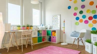 Çocuk Odası Dekoratif Depolama Fikirleri