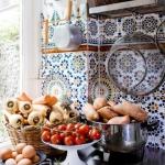 en güzel patchwork mutfak fayansları